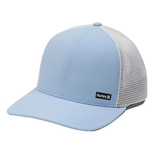 Hurley Men's League Dri-fit Snapback Baseball Cap, Blue, One Size