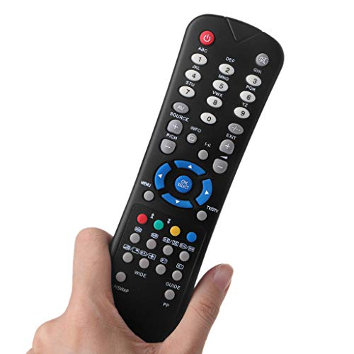 bibididi Rc1055 Control Remoto para Oki TV V15Aph V19Aph V19Bph V19Cph V19Dph V22Aph, Control Remoto 2.4Ghz