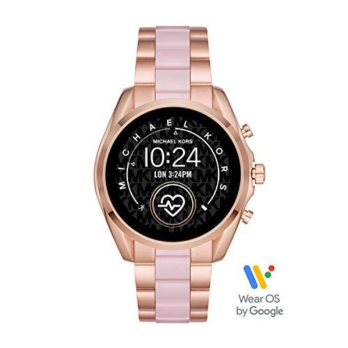 Michael Kors Access - Smartwatch Bradshaw 2 con tecnología Wear OS de Google, frecuencia cardíaca, GPS, NFC y notificaciones de Smartphone - MKT5090
