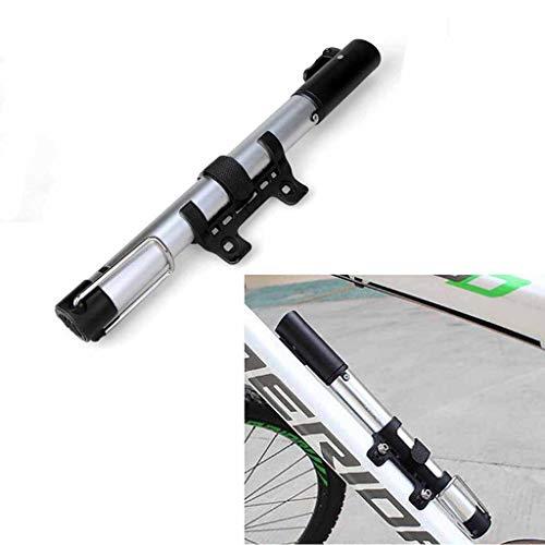 SUNMENCO Mini Portable Pompe de Pneu de vélo Pompe à vélo en Alliage d'aluminium ultraléger Gonfleur avec Valve Presta et Schrader pour vélos de Route VTT et BMX