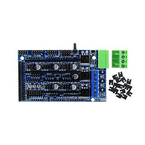 Kingprint TMC2208 V3.0 UART Stepper Amortiguador con controlador de disipador de calor para impresora 3D A4988 DRV8825