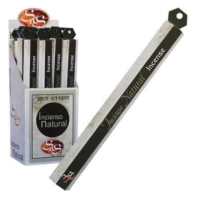 SyS Incienso Natural 20 Stick Olor Aroma a Miel (Pack 6 x 20 Sticks). Perfuma la casa.