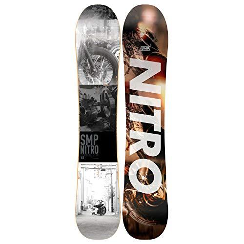 Nitro Snowboards Herren SMP'18 Snowboard, Grafik, 158