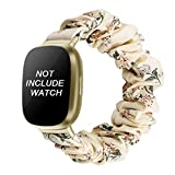 Package Contents: 1 x Watch Strap for fitbit Sense ONLY, watch is NOT included! Compatible Models : Compatible with Fitbit Sense / Fitbit Versa 3 . The model of these bands compatible for fitbit versa 3 watch band This elastic fitbit versa 3 band len...