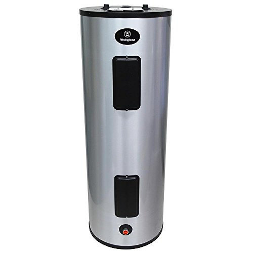 Home Electric Water Heater 4500-Watt Lifetime 80 Gal. Featuring a Stainless Steel Construction and...
