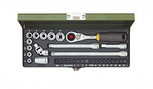 Proxxon 23 078 Set di chiavi a bussola 32pezzo(i)