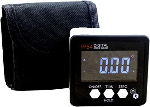 Protractor Herramientas de medición Pantalla Digital electrónica de ángulo de cojinete a Prueba de Agua de Alta precisión Medida de Reglas