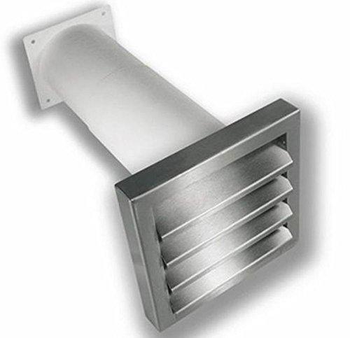 Timloc télescopique 27–55 cm Grille extérieur en acier inoxydable 150 Câble plat Il Canal 230 x 80 mm Power