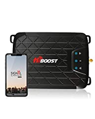 【COMPATIBLE WITH CARRIERS】Please Kindly confirm your cell phone signal band before you purchase. Cell booster Supports Band 12/17,band 13, band 5. The booster amplifies 4G LTE, 3G and 2G cell phone signal for your home and office. 【HiBoost App helps ...