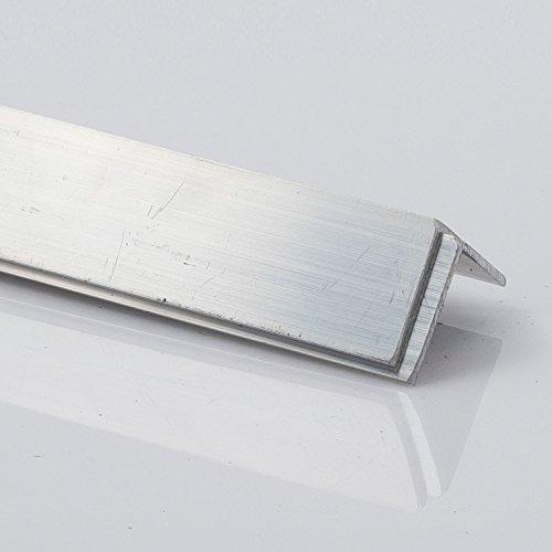 Ángulo de aluminio, perfil de aluminio L, dimensiones y longitud a elegir, 60 x 60 x 2 mm 1000 mm,...