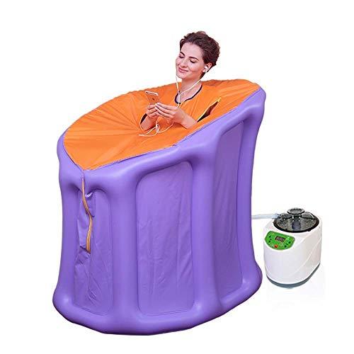 Productos para el hogar Cama Plegable Fácil Almacenamiento Sauna de Vapor portátil SPA 3L Sauna terapéutica Personal para Bajar de Peso Desintoxicación Relajación en el hogar Sauna para una Persona