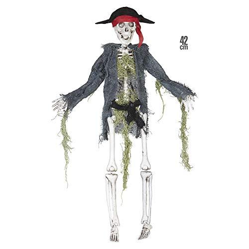 Widmann 01384 - Skelett Pirat, Größe Circa 42 cm