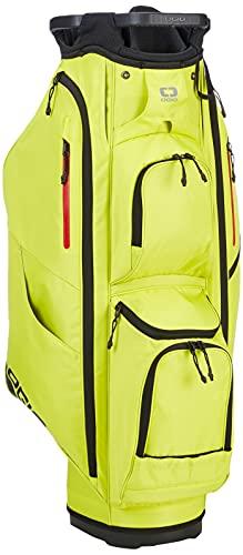 OGIO Golf 2020 Fuse 14 Cart Bag Sac Chariot Adulte Unisexe, Soufre Lueur, Taille Unique