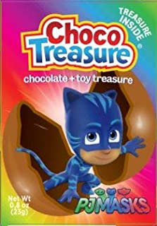 PJ Masks Choco Treasure Eggs with Toy Surprise | Tray of 10 Eggs