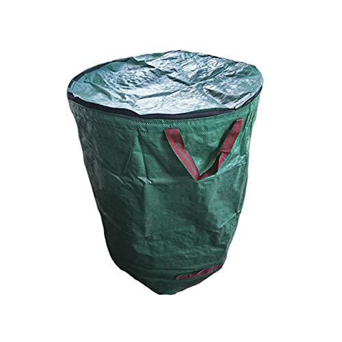 Gartenabfallsack Garten Kompostbeutel – Wiederverwendbare Blattaufbewahrungsbeutel Gartengrüne Blattbeutel Gartenabfallbehälter Gartenabfallbehälter Laubsammler