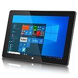 10inch Windows Tablet, Windows 10 Ultra Slim Tablet PC-4GB RAM, 64GB Storage, USB 3.0, 5MP and 2MP Cameras, 1280x800 IPS HD Display, TF Card Slot, Black