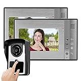 KUIDAMOS Cámara IR TFT LCD de 7 Pulgadas fácil de Instalar de Baja Potencia, Mejora(European Standard (110-240V))