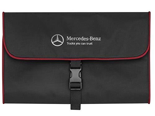 Mercedes-Benz toilettas zwart/rood, polyester