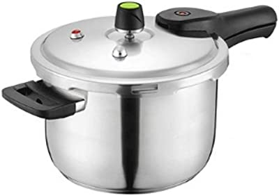 PDGJG Stainless steel pressure cooker, composite bottom, one pot with multiple functions, fast heating, high efficiency