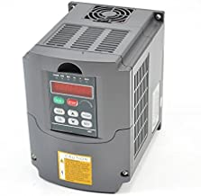 CNC 1.5kw 1500w 110v 2hp Variable Frequency Drive Inverter VFD for Spindle Motor Speed Control
