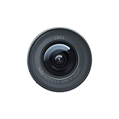 Insta360 ONE R Action Camera Lens Mod Co-Engineered with Leica (1-Inch Wide Angle) by Insta360
