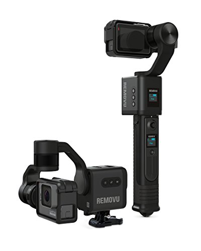 REMOVU S1 3-Axis Gimbal with Wireless Remote Control for GoPro HERO7, HERO6, HERO5 Black, HERO5 Session, Session, HERO4, HERO3+ and 3