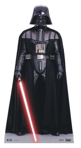 Pappaufsteller Star Wars Darth Vader 195cm hoch Aufsteller Standup Figur Kinoaufsteller Pappfigur Cardboard Lebensgroß Life-Size Standup