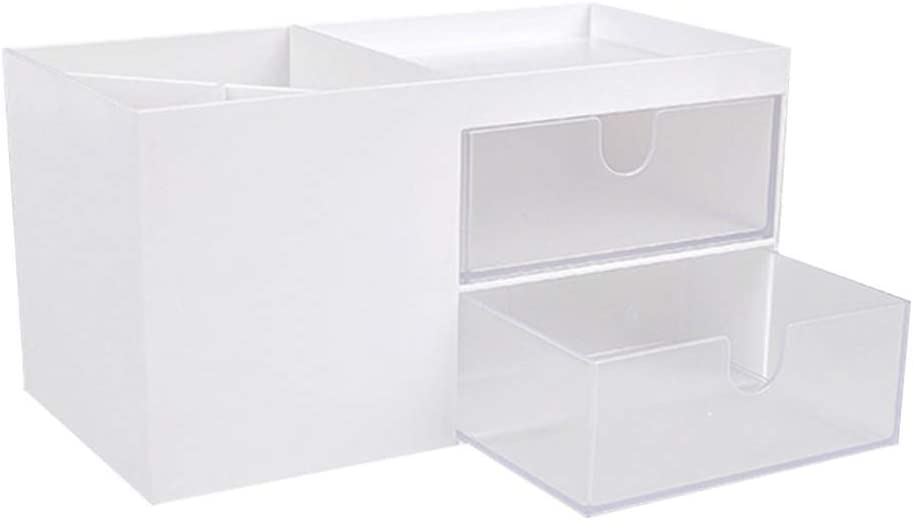 VOSAREA Cosmetic Makeup Storage NEW before selling Max 63% OFF Plastic Organizer Drawer Display