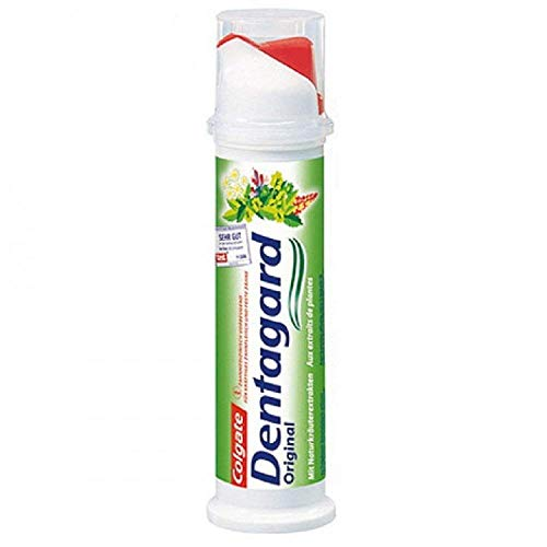 Dentagard Zahncreme Spender, 6er Pack (6 x 100 ml)