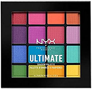 NYX PROFESSIONAL MAKEUP Ultimate Shadow Palette, Brights, 0. 02 Ounce