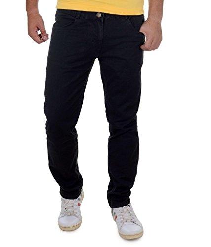 Ben Martin Men's Regular Fit Jeans (BMW7-D-27-BLACK_36-01_Black_36)