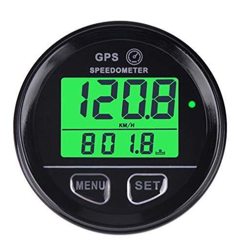 Gps Tacho Motorrad Speed Meter Geschwindigkeitsmesser Wasserdichte Digitale GPS Hintergrundbeleuchtung Geschwindigkeitsmesser Für ATV UTV Motorrad Automobil kraftfahrzeug 60mm