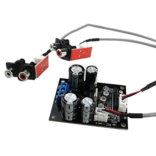 Fauge Reproductor de Discos de Vinilo Placa de Preamplificador de Fono de Vinilo MM MC Placa de Amplificador de Reproductor de Fono Amplificador de Cabeza de FonóGrafo F10-006