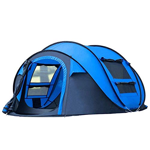 Dhmm123 Durable Camping Tent Person Tents for Camping Waterproof Camping,Double Layer, Easy Setup, Family Tent for,Hiking 80 * 220 * 120cm,Easy to Install