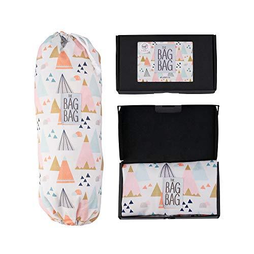 Plastic Bag Holder I Grocery Shopping Bags Carrier I Dispenser I Storage I Organizer. Multiple Designs/Sizes. Size: L