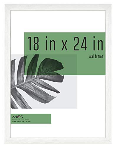 MCS Industries Studio Gallery Frames, 18x24 in, White Woodgrain