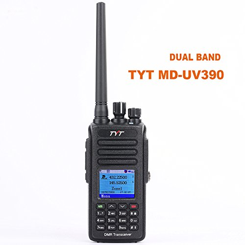 TYT MD-UV390 Digital Dual Band VHF UHF DMR Radio Waterproof Dustproof IP67 Walkie Talkie