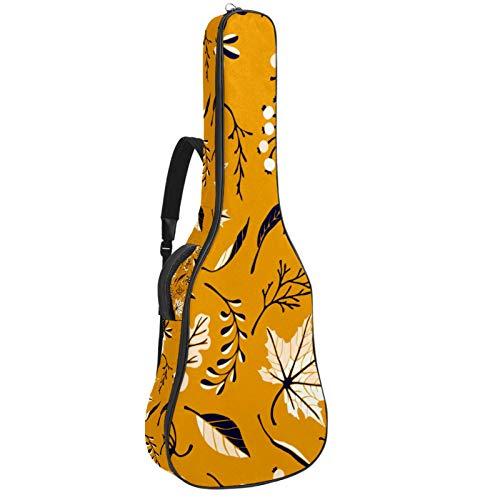 Bennigiry Otoño Hojas Arce Rama Guitarra Bolsa Guitarra Acústica Gig Bag Guitarras Llevar Caso para Guitarrista