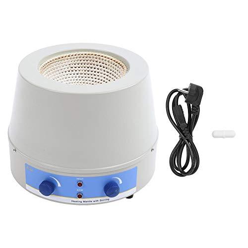 Manto calefactor,50/100/250/500/1000/2000/3000/5000ml Manto calefactor de control de temperatura Kit de manto calefactor magnético,80/100/150/250/350/450/600/800W Potencia de calentamiento(EU)