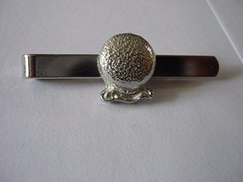 Misty Kristall Ball Fortune Teller TG1aus feinem englischen Moderne Zinn auf einer Krawatte Clip (Slide) geschrieben von uns Geschenke für alle 2016von Derbyshire UK