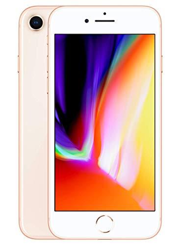 Apple iPhone 8, 4,7 Display, Sim-Free, 64 GB, 2017, Gold (Zertifiziert und Generalüberholt)