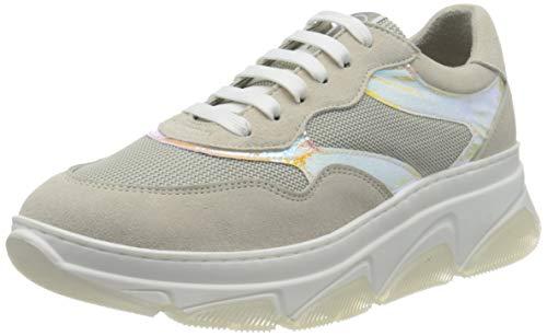 Tamaris Damen 1-1-23772-24 Sneaker, Weiß (Carrara Comb 199), 40 EU