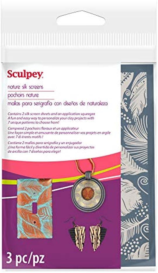 Sculpey AS2001 Silkscreen Kit-Nature