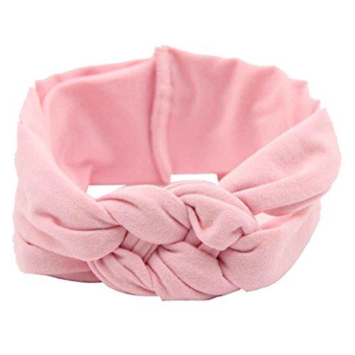 Tonsee® Nouvelle photo de bébé coton Bandeau tisser Headwrap Enfants Zandana Prop
