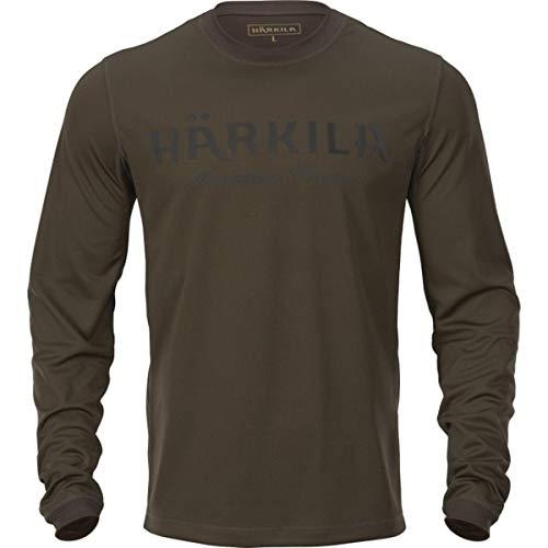 Harkila Mountain Hunter T-shirt de chasse Vert/marron Taille XL