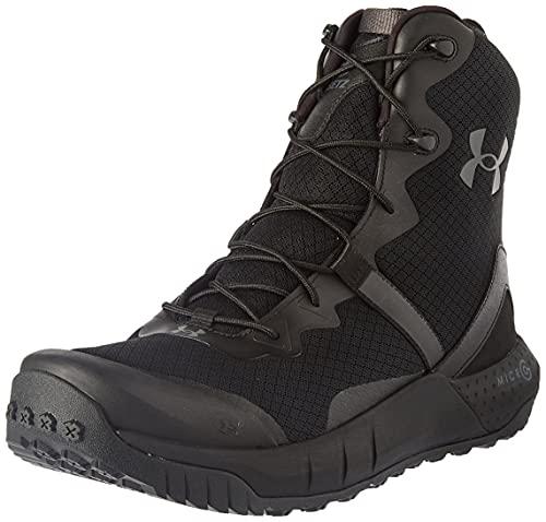 Under Armour Micro G Valsetz, Zapatos de Escalada Hombre, Negro Black Jet Gray 001, 45 EU