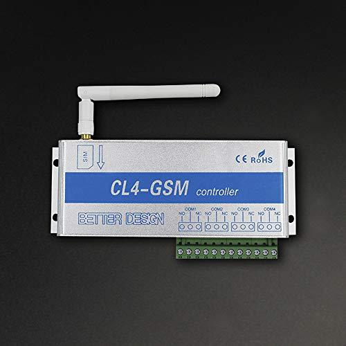 KKmoon 4 Kanäle GSM Drahtlose Handy Fernbedienung Switch Controller Relais Intelligente Schalter Fernbedienung 850/900/1800 / 1900MHz