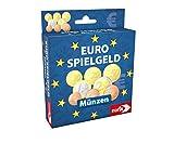 Noris 606521012 Spielgeld Münzen, geeignet als Spielset für Spielkassen, Kaufladen, rechnen lernen, uvm., ab 3 Jahren -