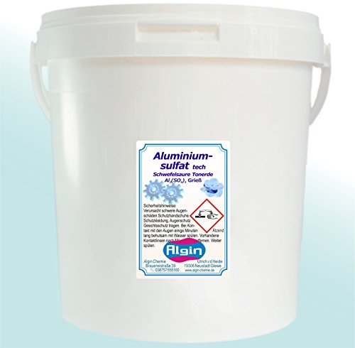 Aluminiumsulfat 5 kg tech Hortensien Azaleen Blütenblau Isoliersalz Flockungsmittel