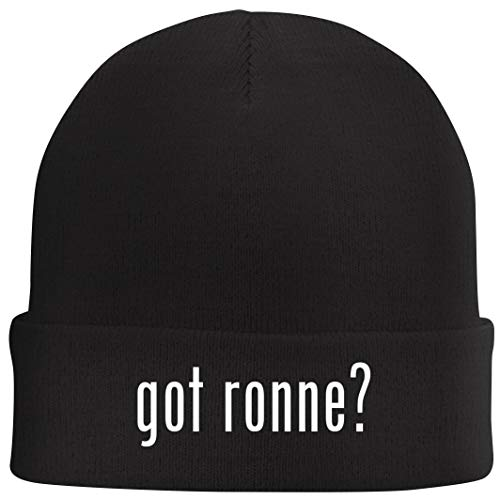 Tracy Gifts got Ronne? - Beanie Skull Cap with Fleece Liner, Black